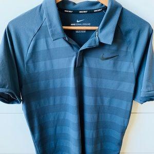 Nike Men's Zonal Cooling Golf Polo Sz L